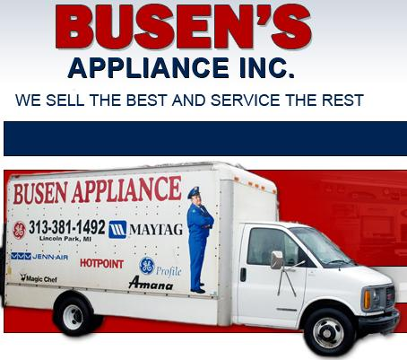 Busen's Appliance Logo