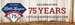 75th Anniversary Logo Banner
