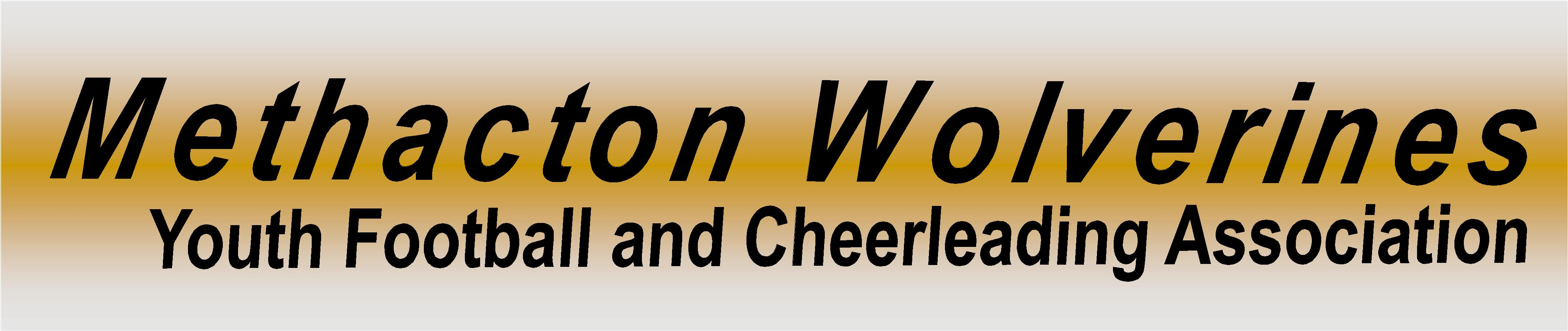 <B>METHACTON WOLEVRINES FOOTBALL & CHEER</b>
