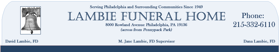 Lambie Funeral Home