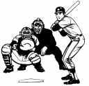 BASEBALL - Catcher, Player & Ump
