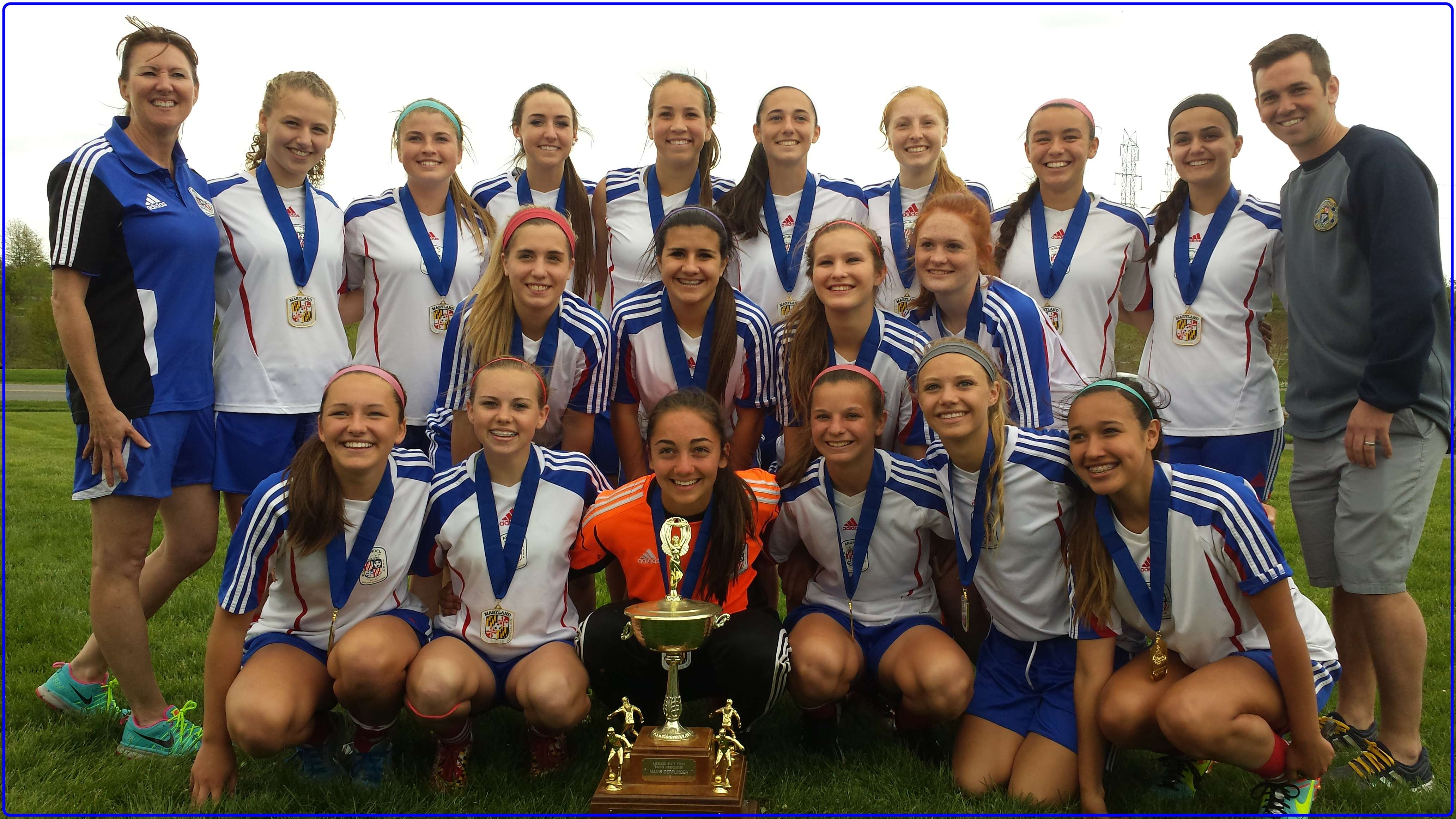 MD State Cup Champs 2014