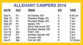 2014 schedule updated