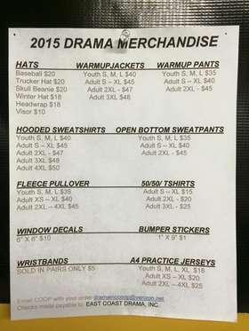Merchandise Pricelist
