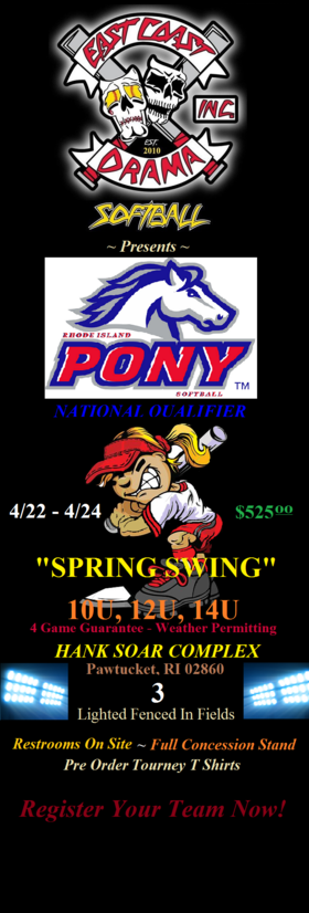 Spring Swing Poster