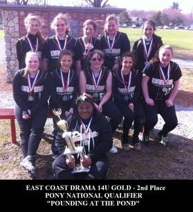 ECD 14U Gold 2nd Place