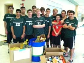 Boys CHOW Donation 4-20-2012