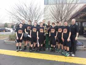 Grade 9 Spartan Tournament Champs 2013