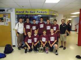 Grade 8 Spartan's Shootout Champs