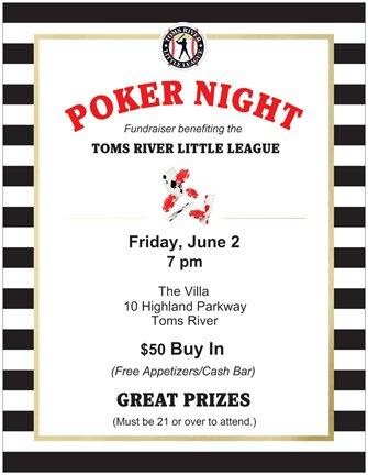 2017 Casino Night Flyer