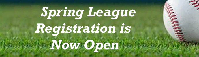 Spring Registration Open