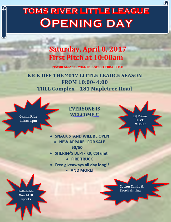 Opening Day Flyer 2017