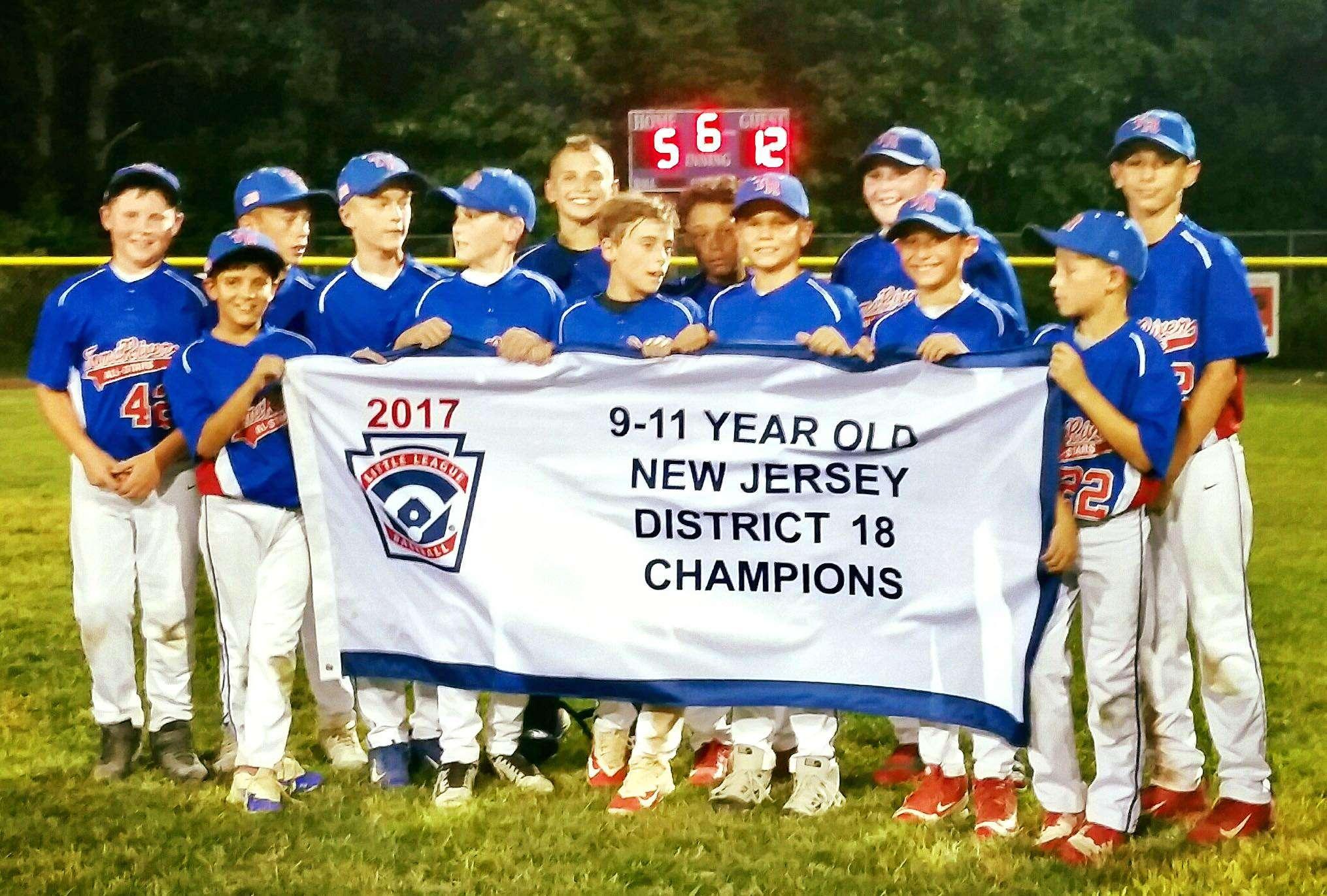 2017 11u D18 Champions