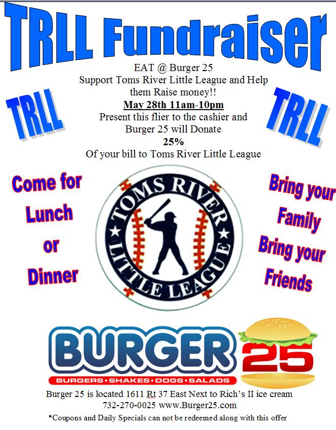2015 Burger25 Flyer