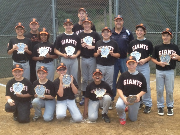 2013 Giants Majors Champs