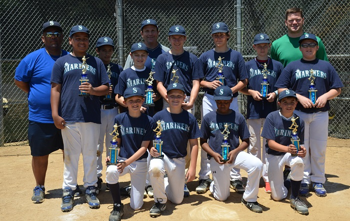 Mariners 11-12 Champs