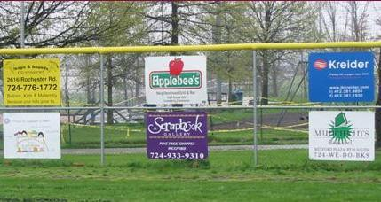 Field Sponsor Signs Pic