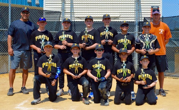 Pirates 2016 Major11-12 Champs