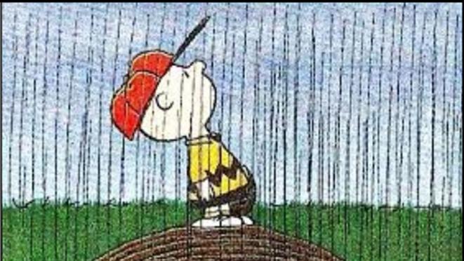 Rainout Charlie Brown