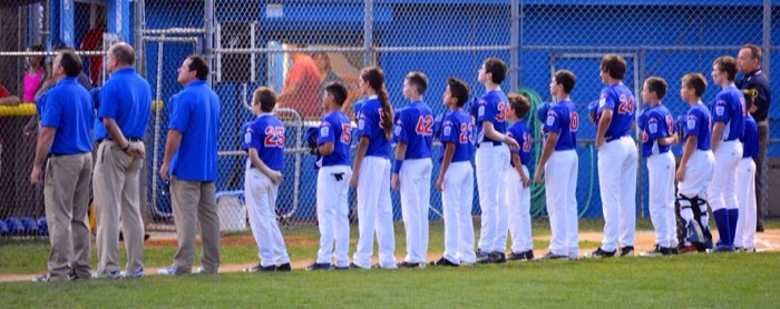 2014 TRLL 12u Section3 Anthem