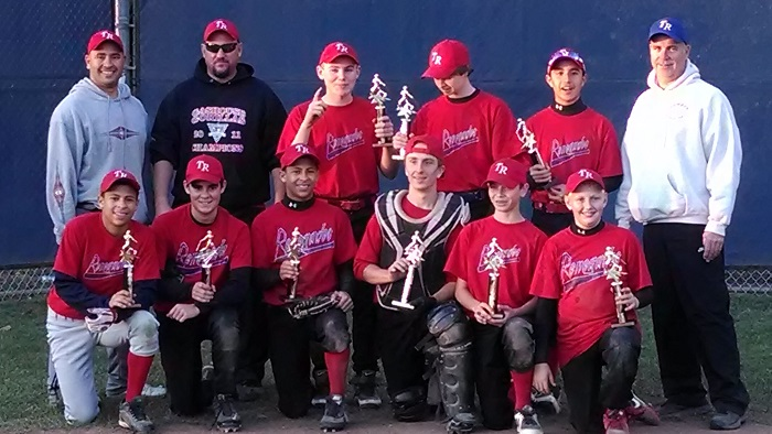 2013 Renegades Red CFBL Champs