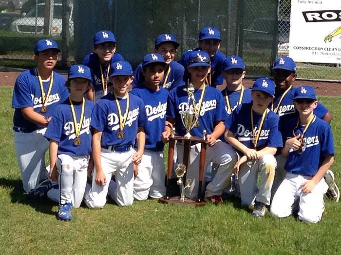 2014 Dodgers Mayor Champs