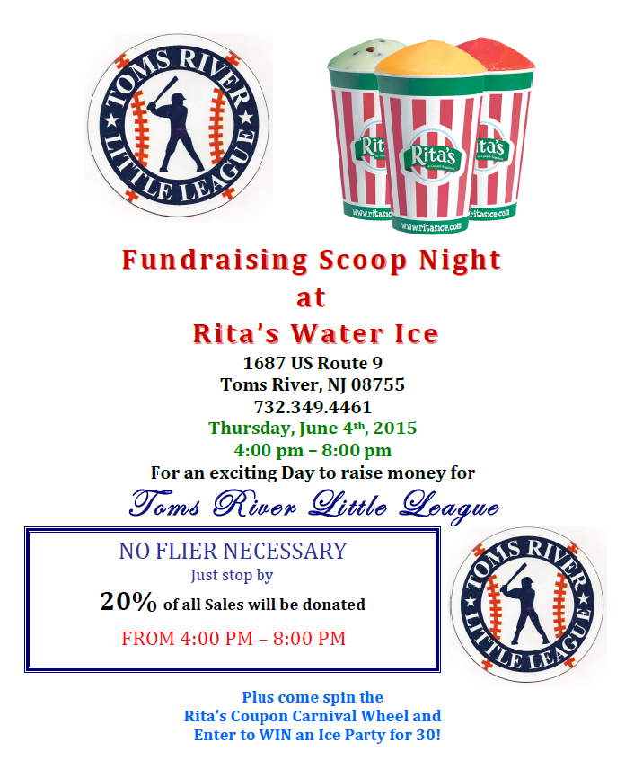 2015 Ritas Scoop Night