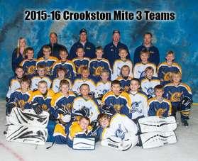 2015-16 Mite 3 Team