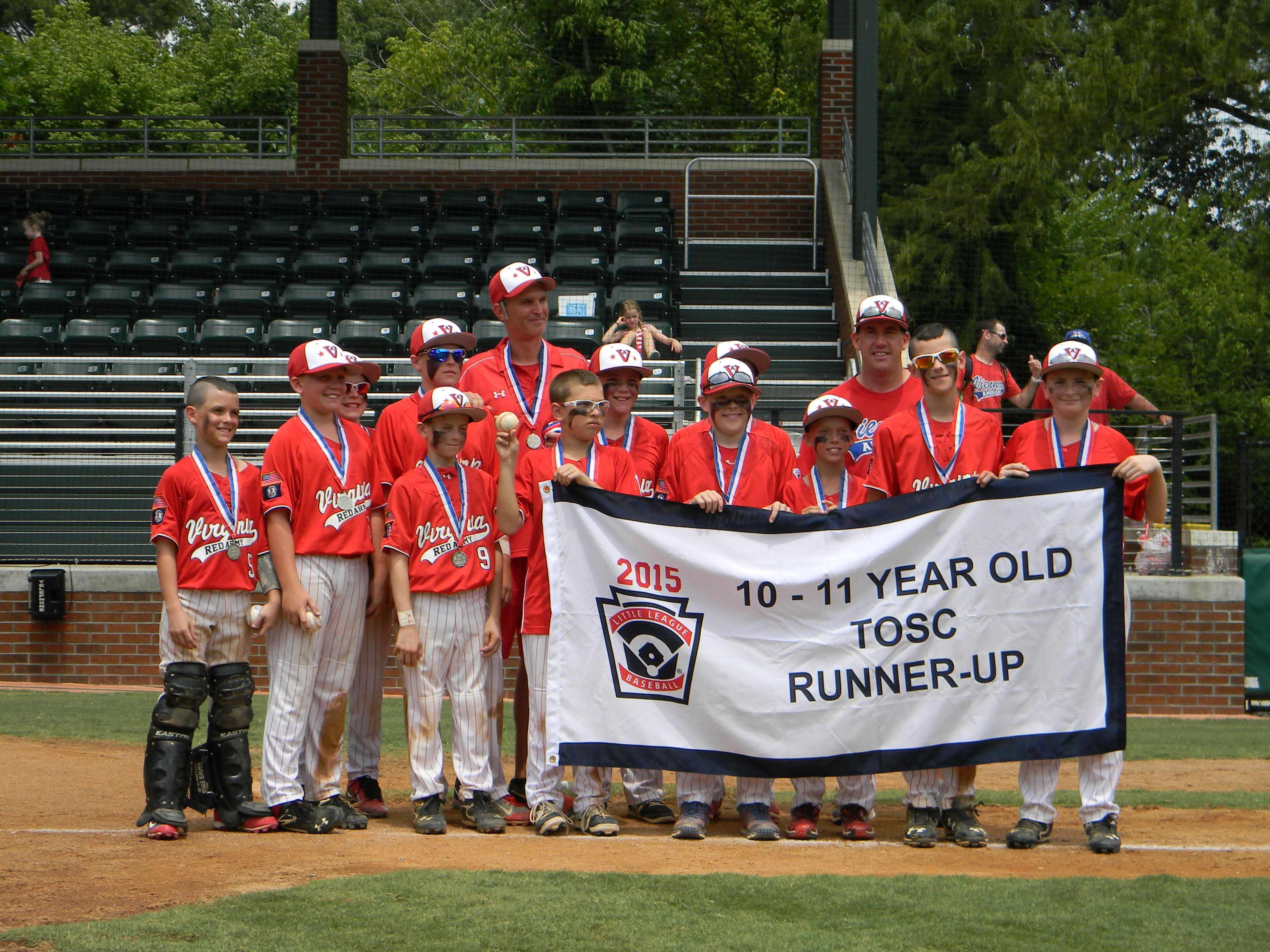 2015 TOSC 10-11 Runner-up