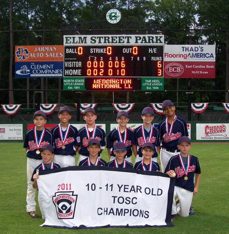 TOSC Champion 2011