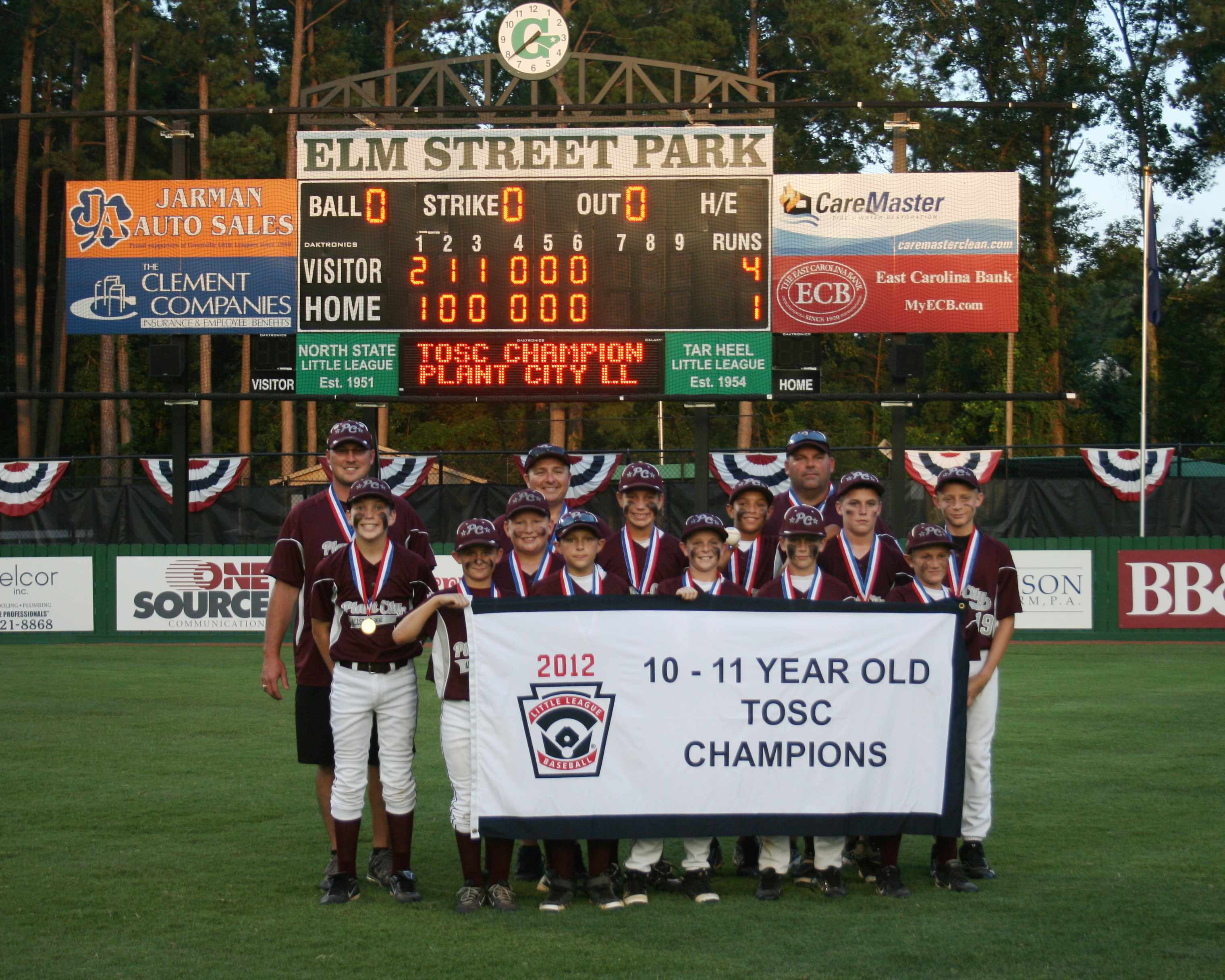 2012 SE Region - Tournament of STATE Champions - 10-11 Baseball.jpg