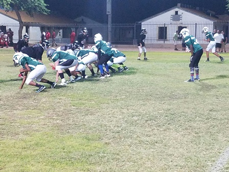 Phoenix Christian first scrimmage