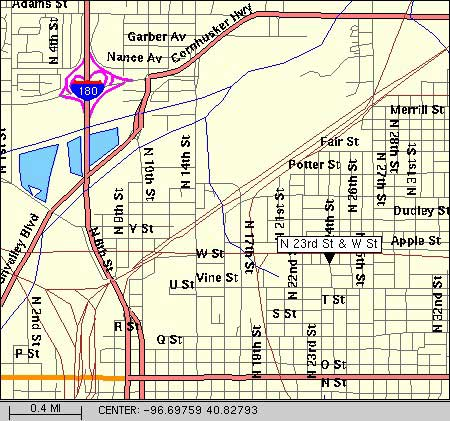 Map: Sparta Field