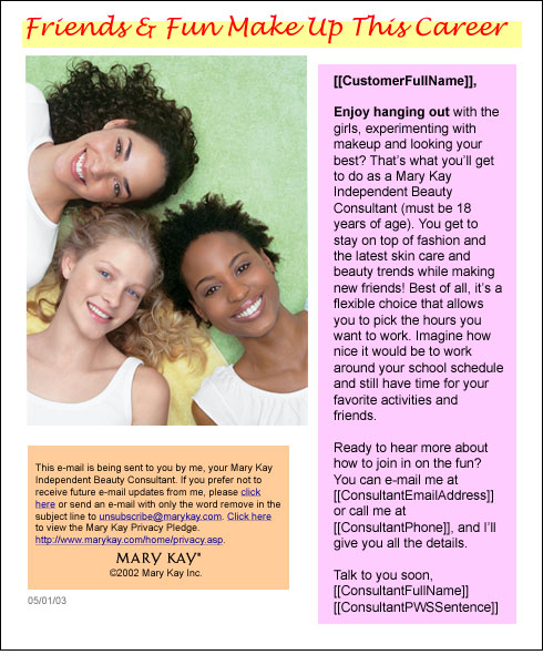 Mary Kay girls