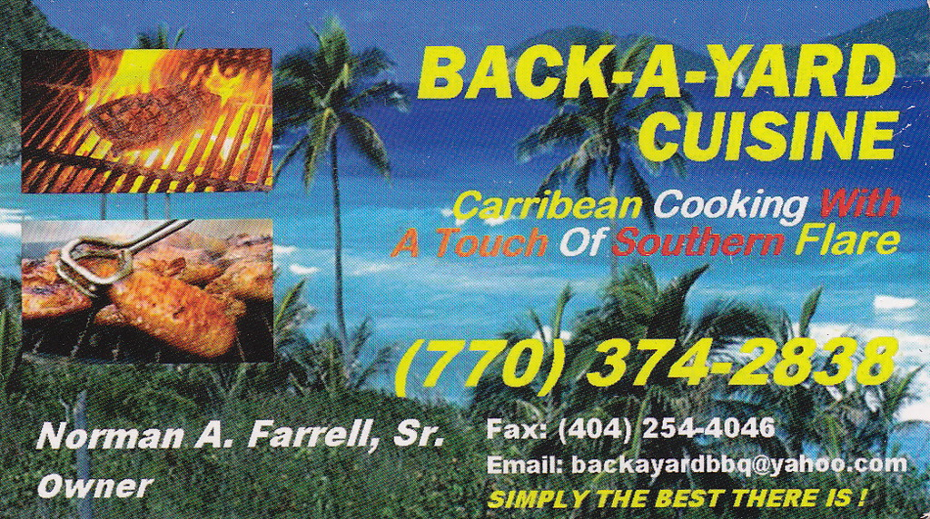 Back-A-Yard Cuisine