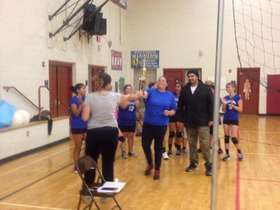 2014 Westland girls win volleyball 1