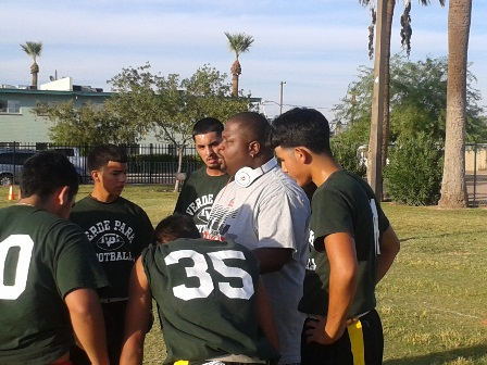 2012 FB Rodney huddle v Maya 1