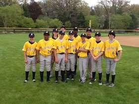 Rampage 13U Gold Uniforms