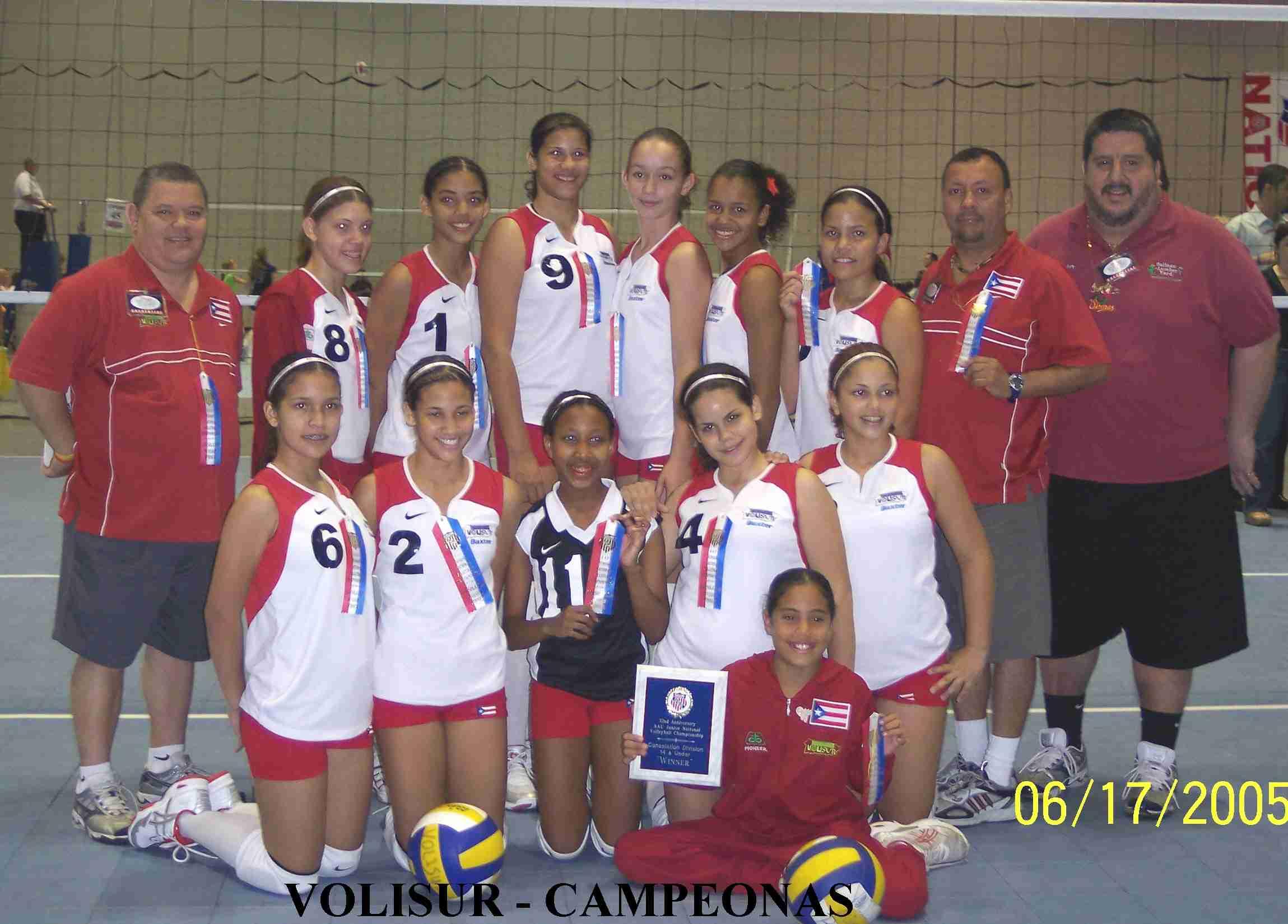 AAU Disney Campeonas 2005