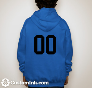 Back hoodie design
