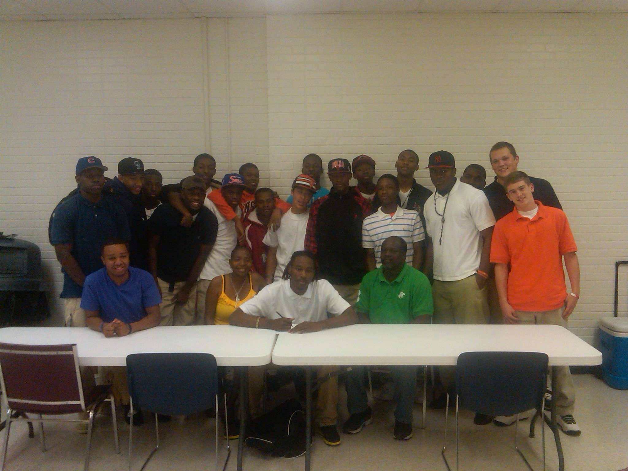 terrence signing day