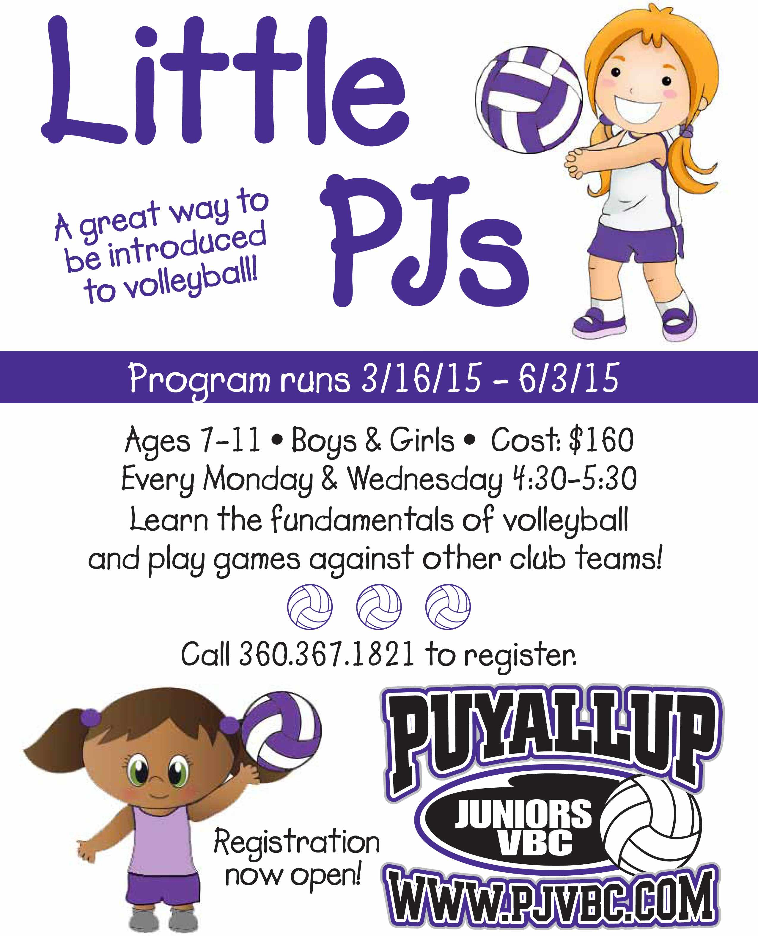 Little Pjs Flyer March 2015