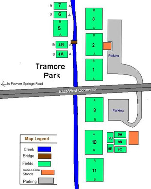 Tramore layout