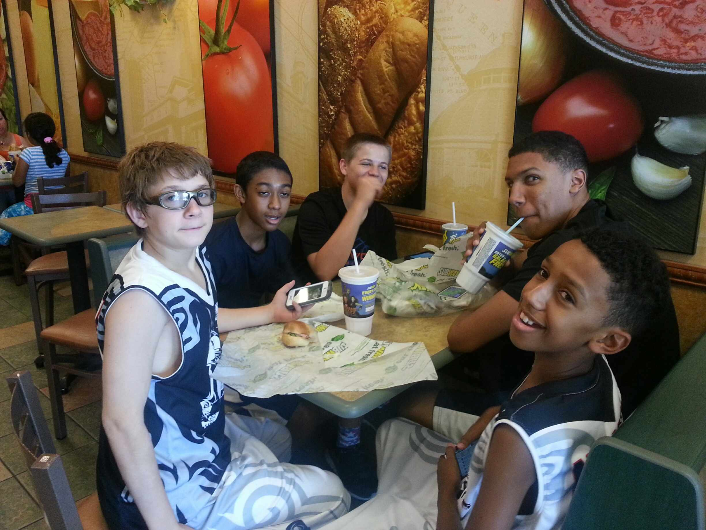 Lunch at Subway.17Aug2014