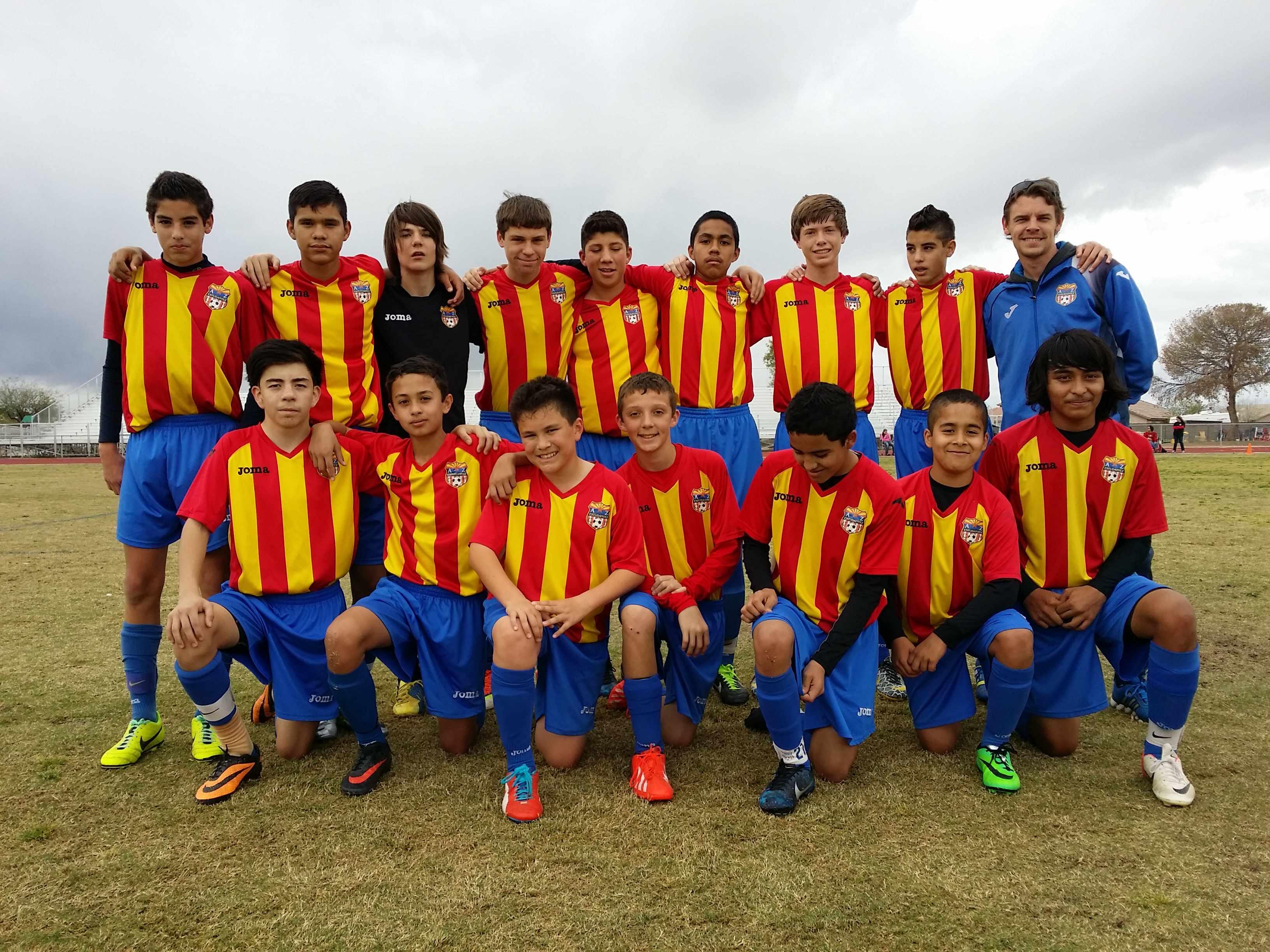 U14 Boys Competitive Team South_1