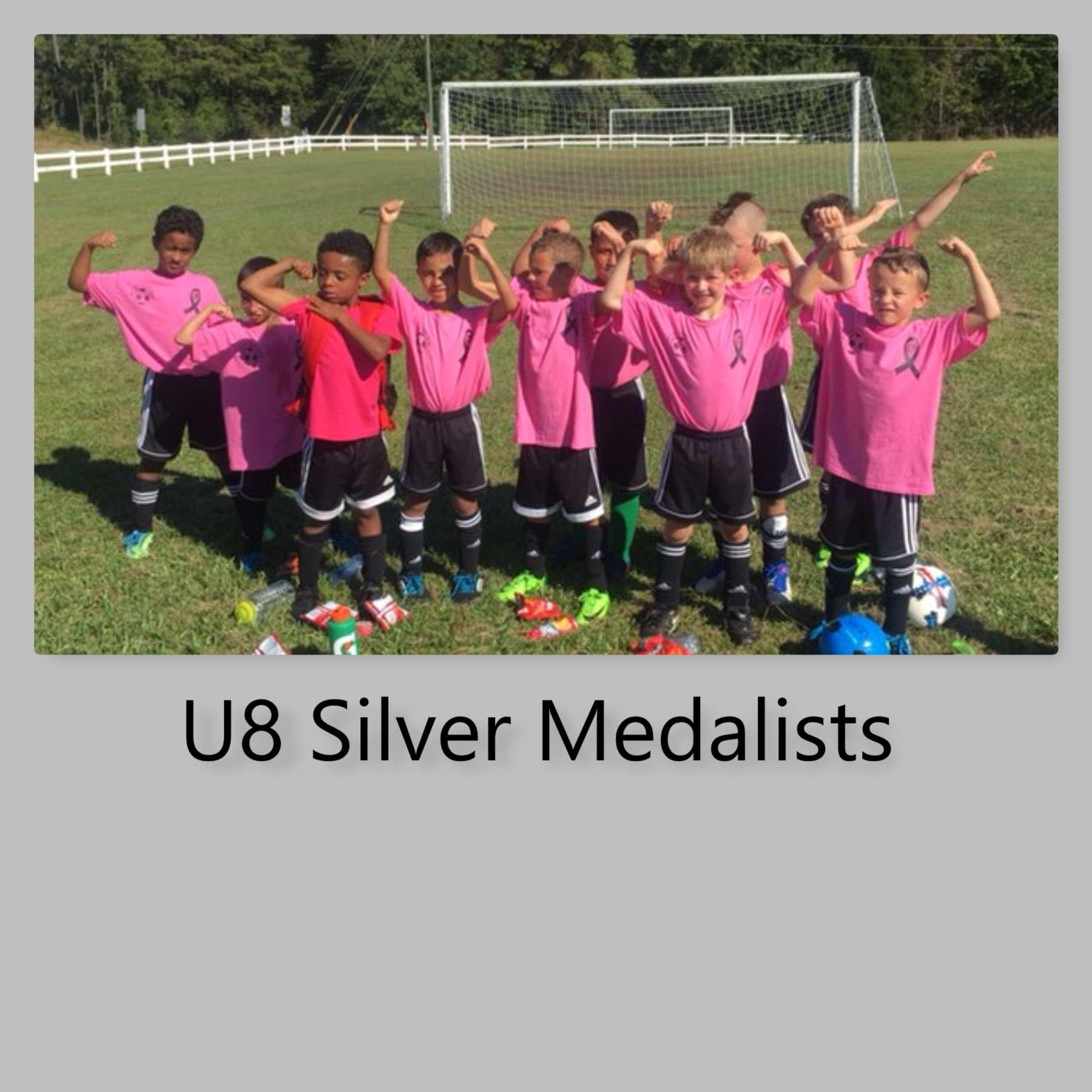 U7 Silver Medalists