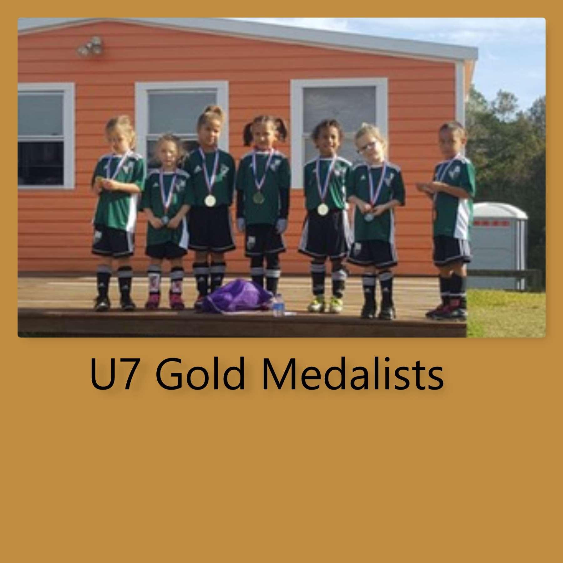 U7 Goldmedalists