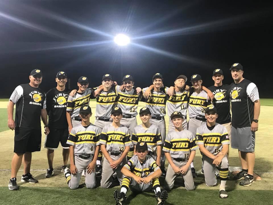 Fury Baseball 14U 2018