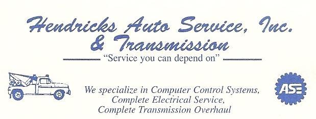 Hendricks Auto Service
