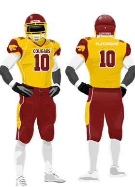 2014 Cougars Uniform